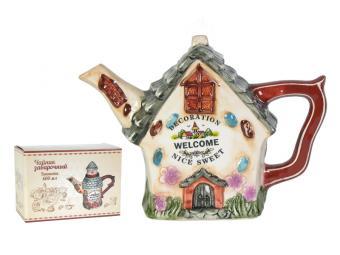 Чайник заварочный Пряничный домик 600мл