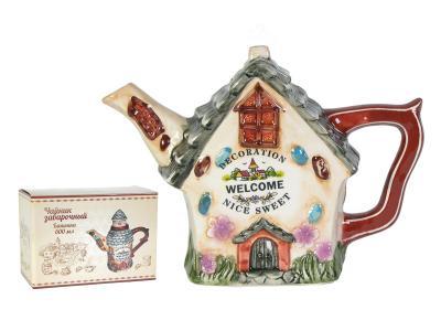 Чайник заварочный Пряничный домик 600мл  824386