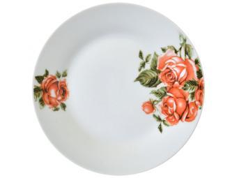 Тарелка десертная 18см Королевская роза