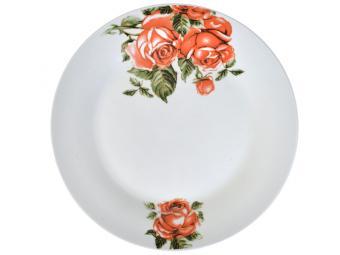 Тарелка десертная 20см Королевская роза