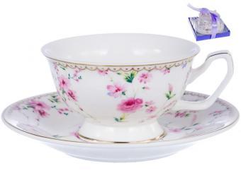 Чайная пара 220мл ЦЕЦЕРА цветочный ситец