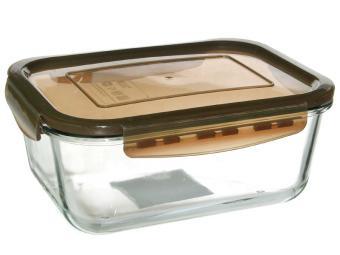 Форма стеклянная 1,6л герметичная крышка тм Appetite