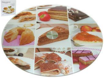 Тортовница вращающаяся 30см Десерт