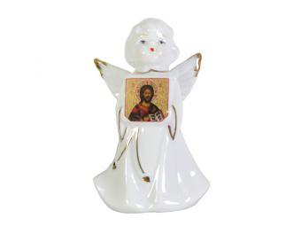 Фигурка Ангел и иконой 10см