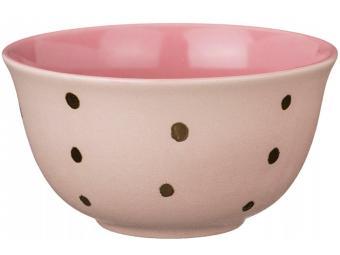 Салатник 14см розовый
