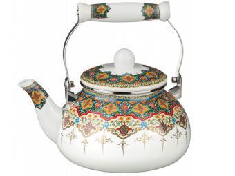 Чайник 2,5л эмаль Восточный