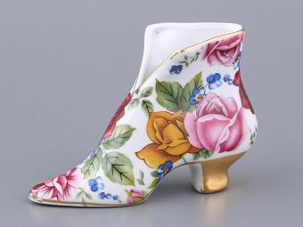 Салфетница сапожок Розы
