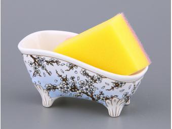Подставка для губки Ванночка Сакура