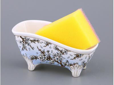 Подставка для губки Ванночка Сакура Арти-М
