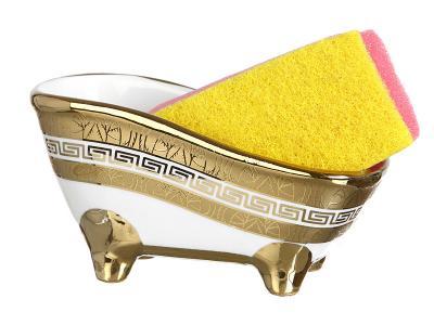 Подставка для губки с губкой Ванночка Греческий Арти-М 274-810