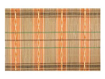 Салфетка бамбуковая Волна оранж