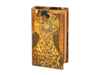 Шкатулка-книга девушка