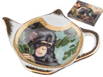 Подставка для чайного пакетика Шимпанзе