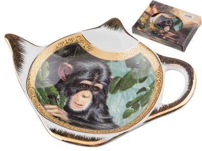 Подставка для чайного пакетика Шимпанзе Арти-М