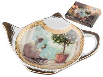Подставка для чайного пакетика Мартышка