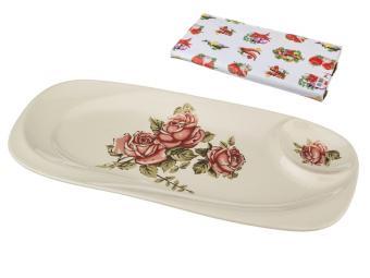 Блюдо для шашлыка Корейская роза