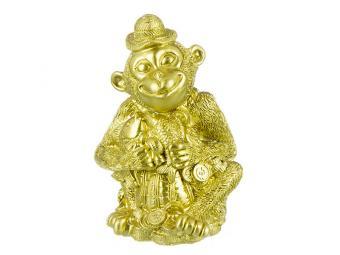Копилка Золотая обезьянка