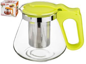 Чайник заварочный 700мл с фильтром нерж (салатовый)