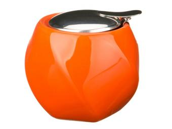 Сахарница с метал крышкой Оранж Грани 300мл