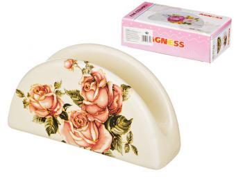 Салфетница Корейская роза 13,5см