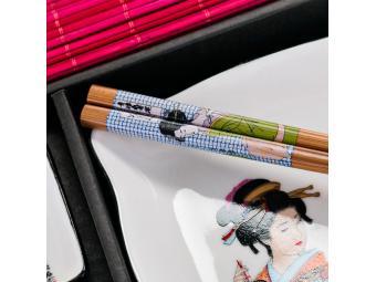 Набор для суши на одну персону Бабочка 5пр Арти-М