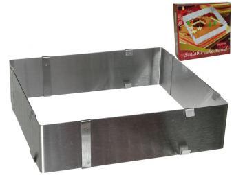 Форма кулинарная регулируемая 15-28см