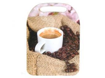 Доска разделочная декор Кофе 21*29см