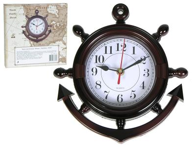 Часы Якорь настенные 24*24см 35027