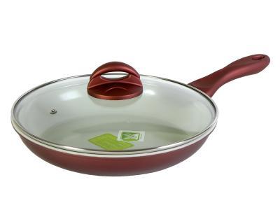 Сковорода 26см стальная керамическое покрытие Bergner