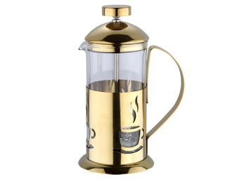 Кофе-пресс 350мл Золотой