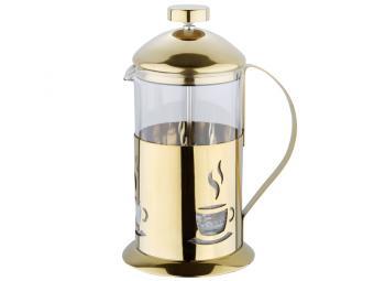 Кофе-пресс 600мл Золотой