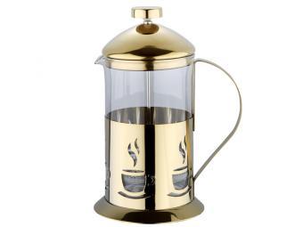 Кофе-пресс 800мл Золотой