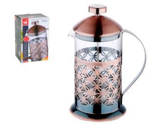 Кофе-пресс 800мл Медный узор