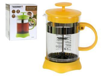 Кофе-пресс 800мл стекло и метал. сито