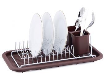 Сушилка для посуды метал 44*24*12см