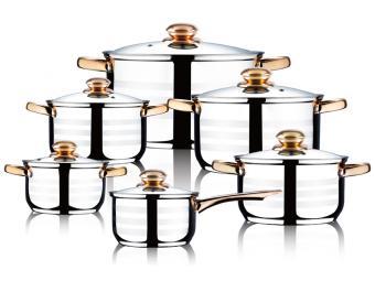 Набор посуды Perfecto из нержавеющей стали