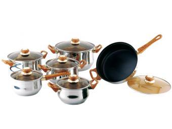 Набор посуды из нержавеющей стали Classic Bekker