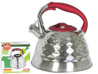 Чайник 3л нерж Premium Граненый BK-S591