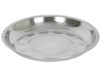 Тарелка 20см десертная нержавеющая сталь 350мл