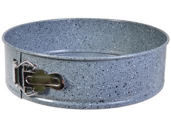 Форма для выпечки разъемная круг мраморная 22см