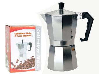 Кофеварка гейзерная 450мл алюм S-10183