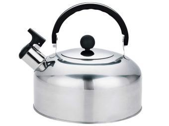 Чайник 2л нерж сталь со свистком Casual, зерк полировка