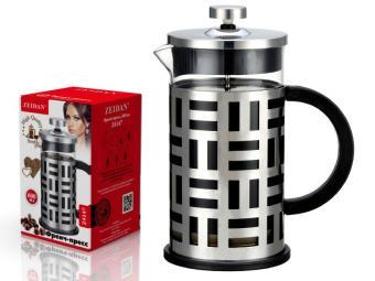 Кофе-пресс 600мл нерж.сталь Z-4147
