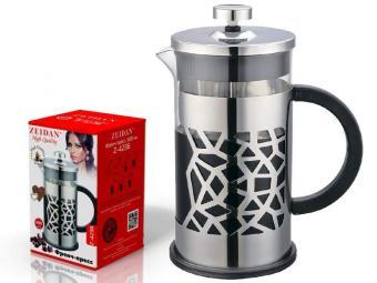Кофе-пресс 600мл нерж.сталь Z-4236