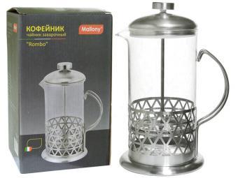 Кофе-пресс 800мл серия Rombo тм Mallony