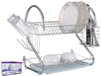Сушилка для посуды 2-х ярусная 820474