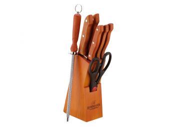 Набор ножей Bohmann 8пр в деревянной подставке