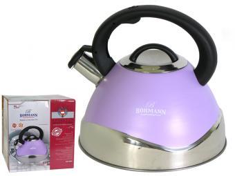 Чайник нерж 3,5л Bohmann фиолет