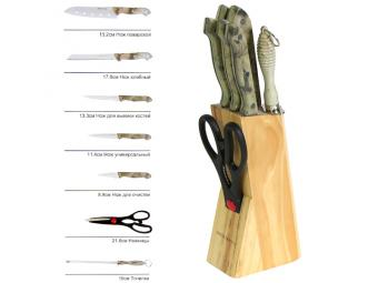 Набор ножей Мрамор 8 пр Mayer&Boch