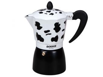 Кофеварка гейзерная 0,3л Коровка